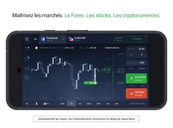 iq option trader google app gratuite