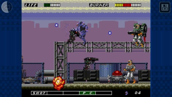 , ESWAT : City Under Siege rejoint la collection SEGA Forever