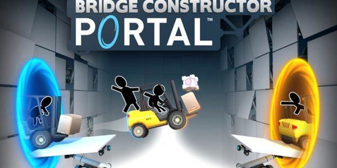 , Valve sort Portal Bridge Constructor sur Android !