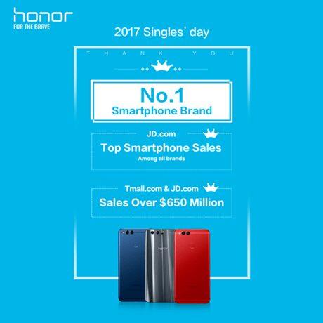 , « Jour des célibataires » en Chine : les smartphones Honor battent des records de vente !