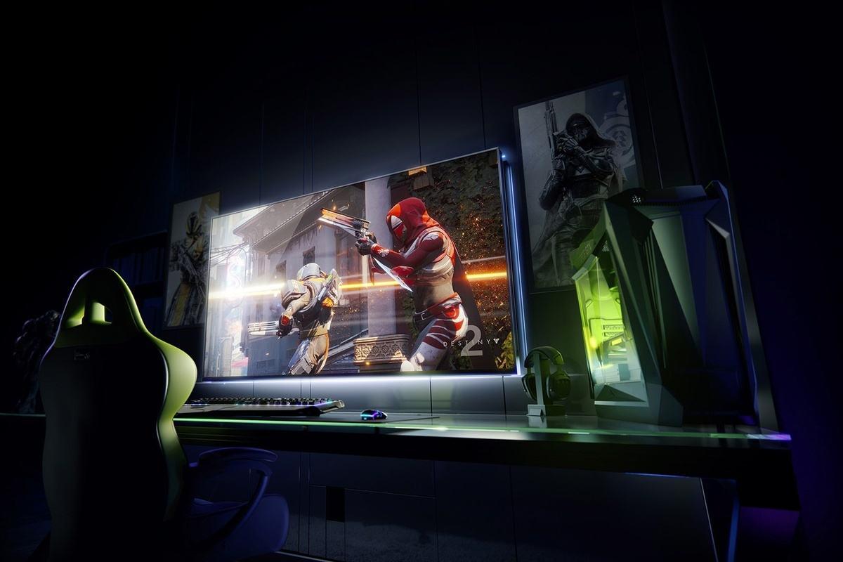 nvidia annonce un cran gaming 4k de 65 pouces avec android tv. Black Bedroom Furniture Sets. Home Design Ideas