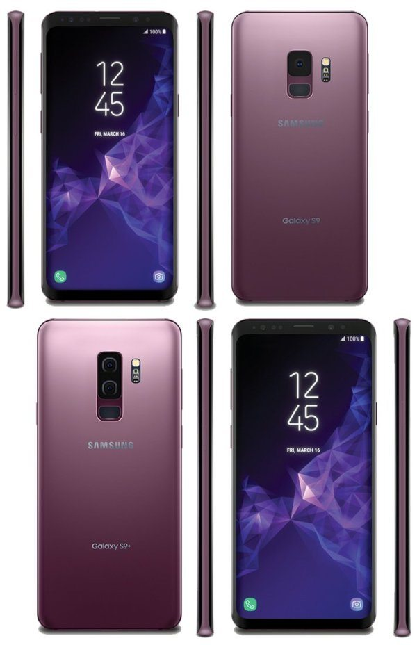 galaxy S9 lilac purple official