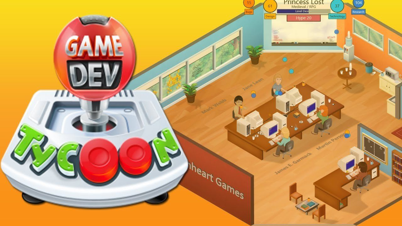 , Game Dev Tycoon est disponible sur Android