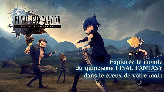 , Final Fantasy XV: Pocket Edition est officiellement lancé le 9 février