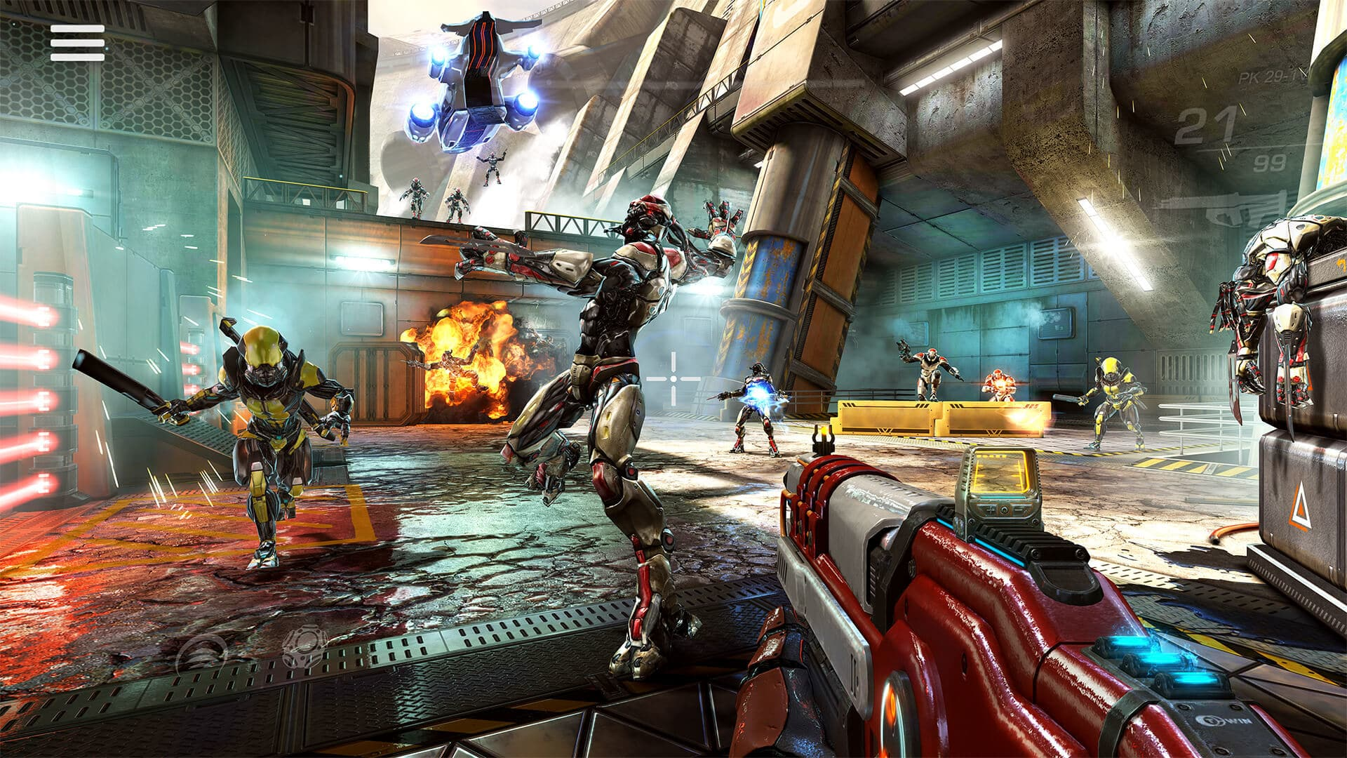 , Shadowgun Legends un Destiny like vient de sortir