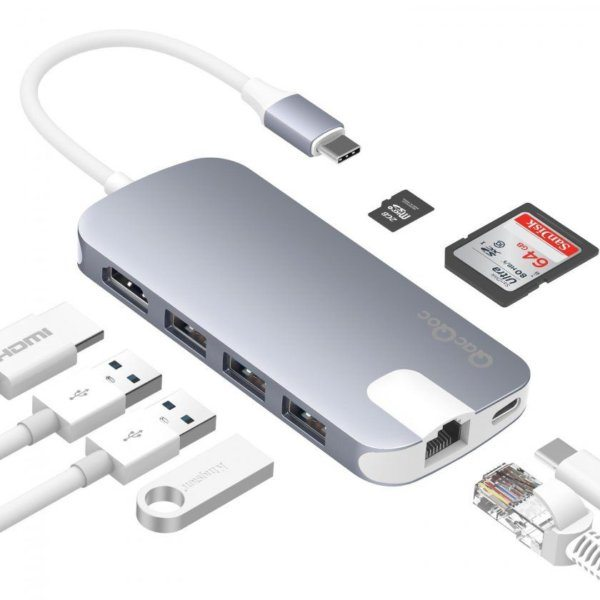 , Promos : HUB USB-C, protection écran Galaxy S9, multiprise connectée, …