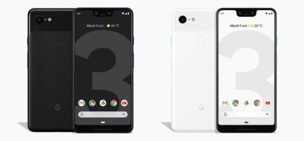 , Google officialise ses Pixel 3 et Pixel 3 XL