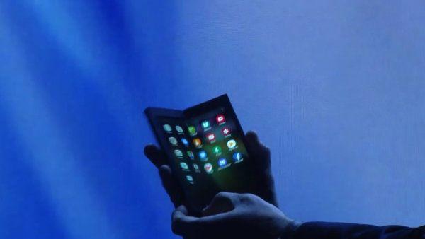 , Samsung présentera demain son smartphone pliant [EDIT : voici le Infinity Flex Display]