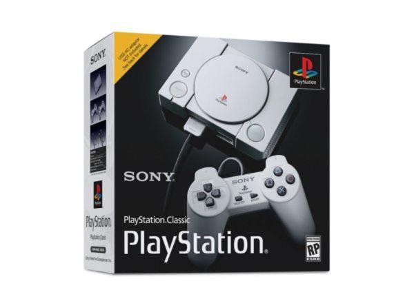 , Sony lance les précommandes de la PS1 Classic à 99,99€ avec 20 jeux