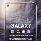 galaxy a8S trou ecran samsung