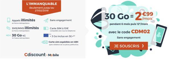 forfait mobile, 30Go par mois pour 3€ ou 40Go pour 10€ à vie ! Votre nouveau forfait mobile ?