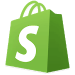 logo Shopify: E-commerce mobile