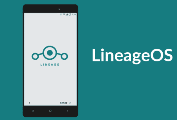 LineageOS interface