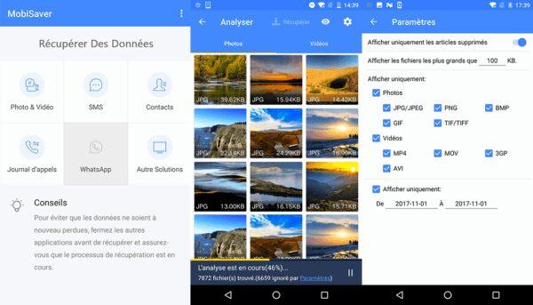 , EaseUS MobiSaver for Android : l'outil qui sauve vos données supprimées
