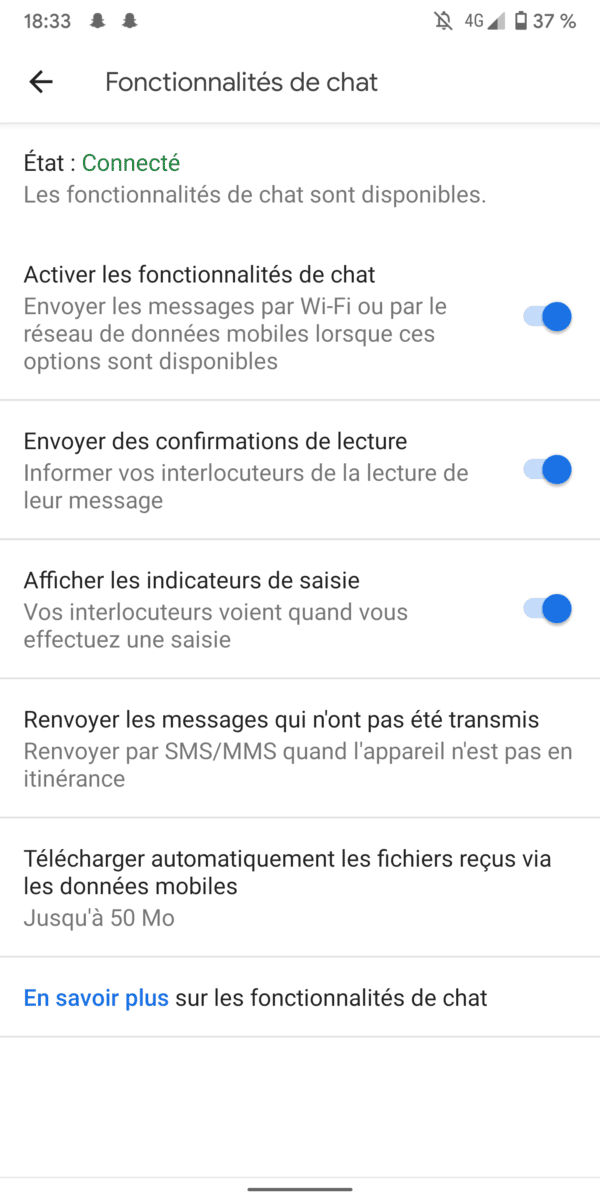 RCS, Le «iMessage» d'Android débarque enfin en France !