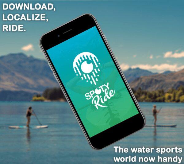 spotyride, Spotyride : l'application qui permet de savoir où surfer