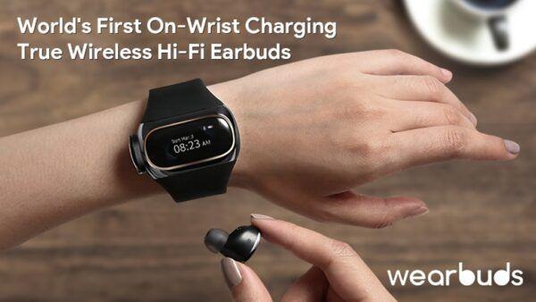wearbuds, Wearbuds: écouteurs sans fils et montre intelligente réunis