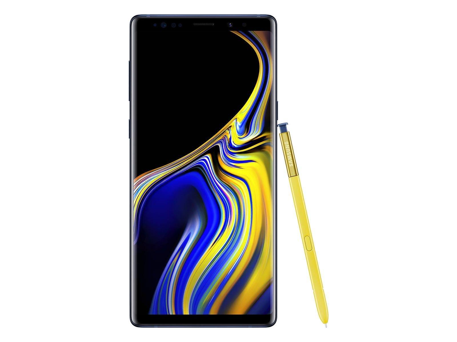 Samsung Galaxy Note 9 Smartphones rentrée