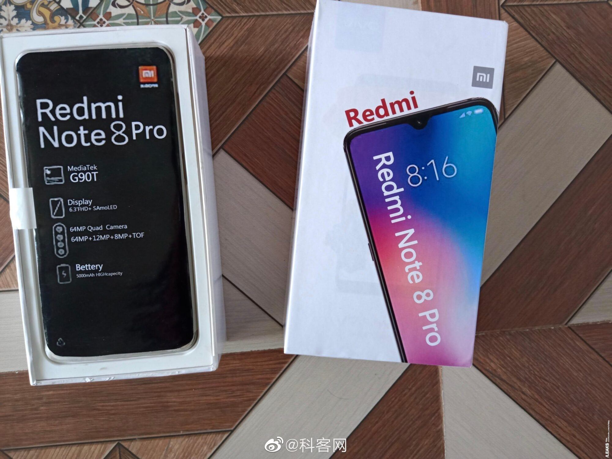 Déballage du redmi note 8.