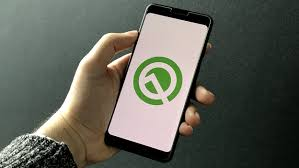 smartphone android q android 10