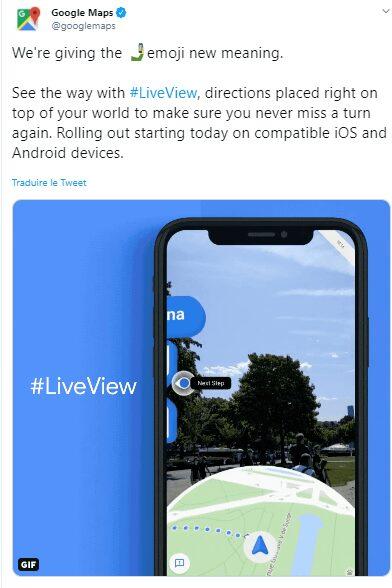 live view, Google Live View: comment ne plus jamais se perdre