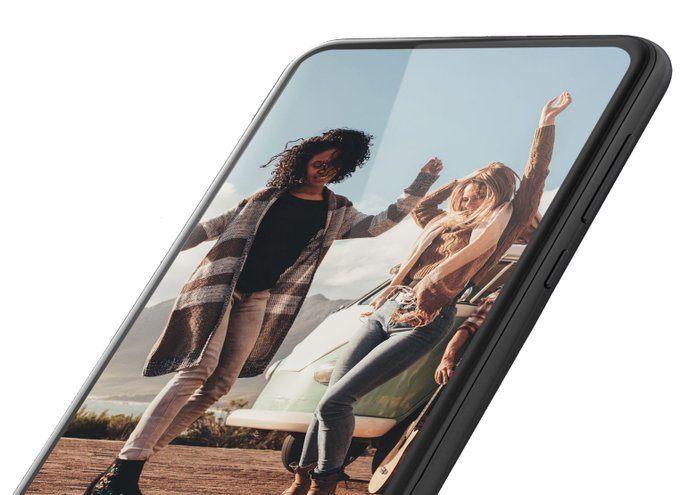 Rendu écran allumé (Motorola G8 ?)