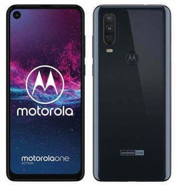 Motorola One Action noir
