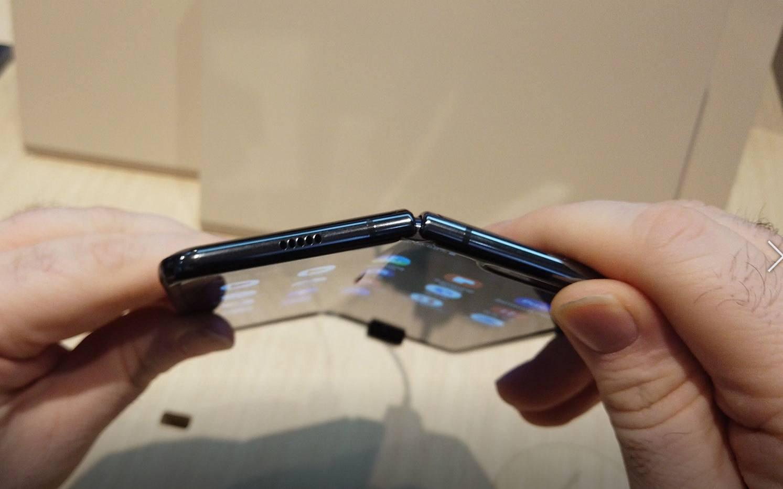 Samsung Galaxy Fold plié