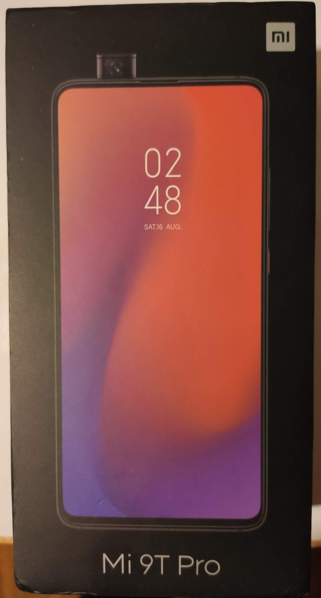 MI 9T Pro écran miui pop-up borderless boîte Snadpragon 855 48 MP Sony
