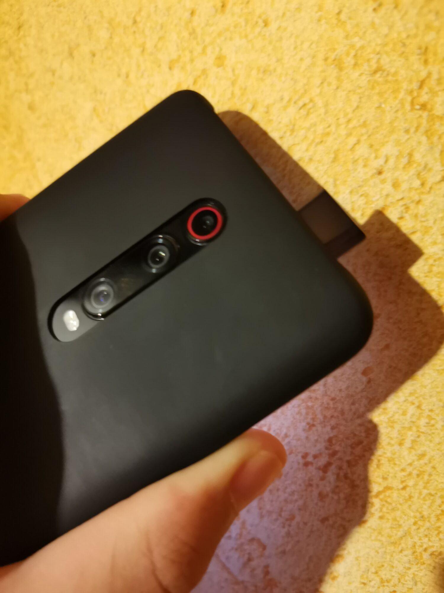 MI 9T Pro écran miui pop-up borderless boîte Snadpragon 855 48 MP dos coque charbon noir triple capteurs