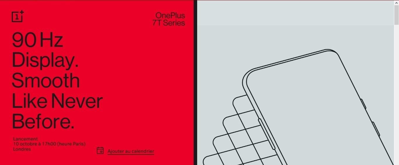 OnePlus 7T 6T Pro Mclaren Edition Fluidité 90 Hz smartphone nouveau écran borderless caméra