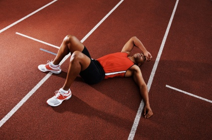 sportif fatigué
