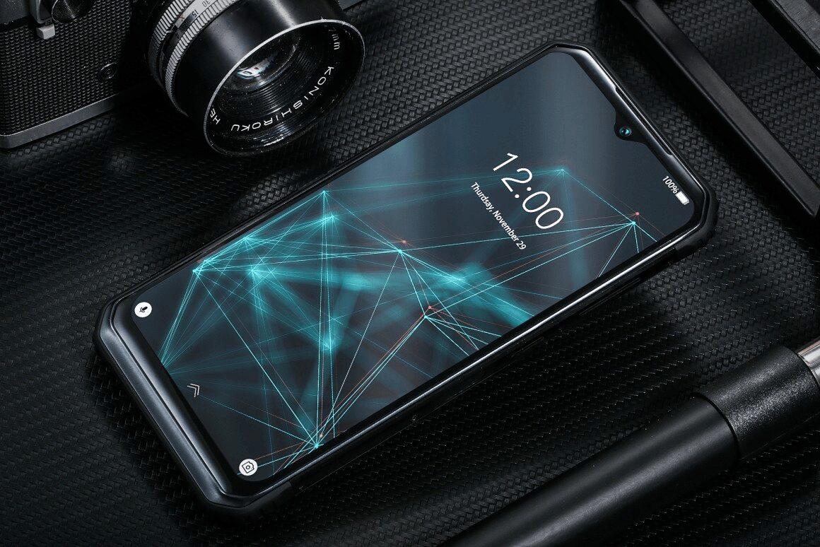 Smartphone incassable Doogee S95 Pro - Face avant