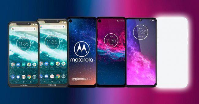 La nouvelle gamme de Motorola