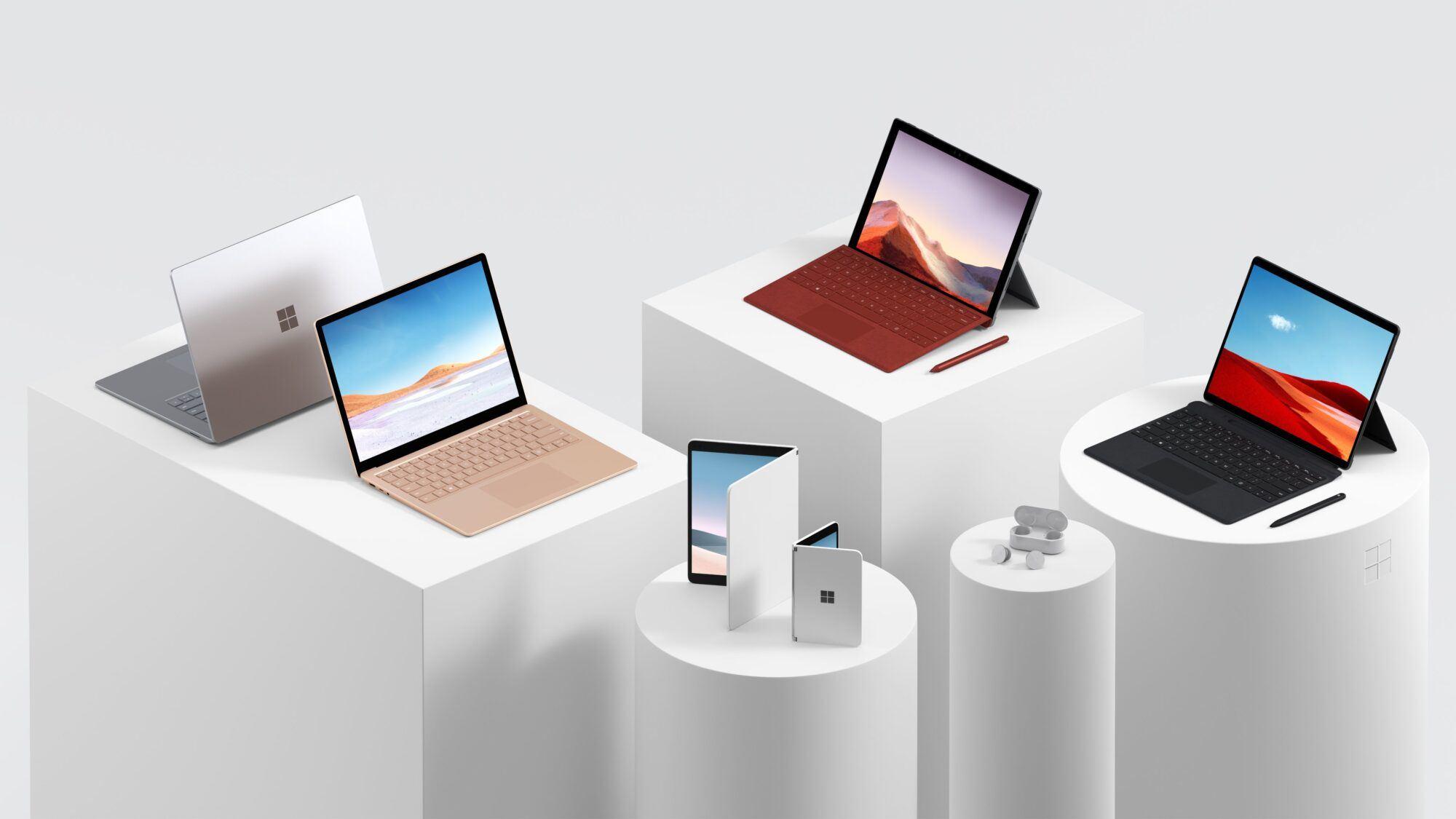 Les nouveaux appareils Microsoft Surface présentés