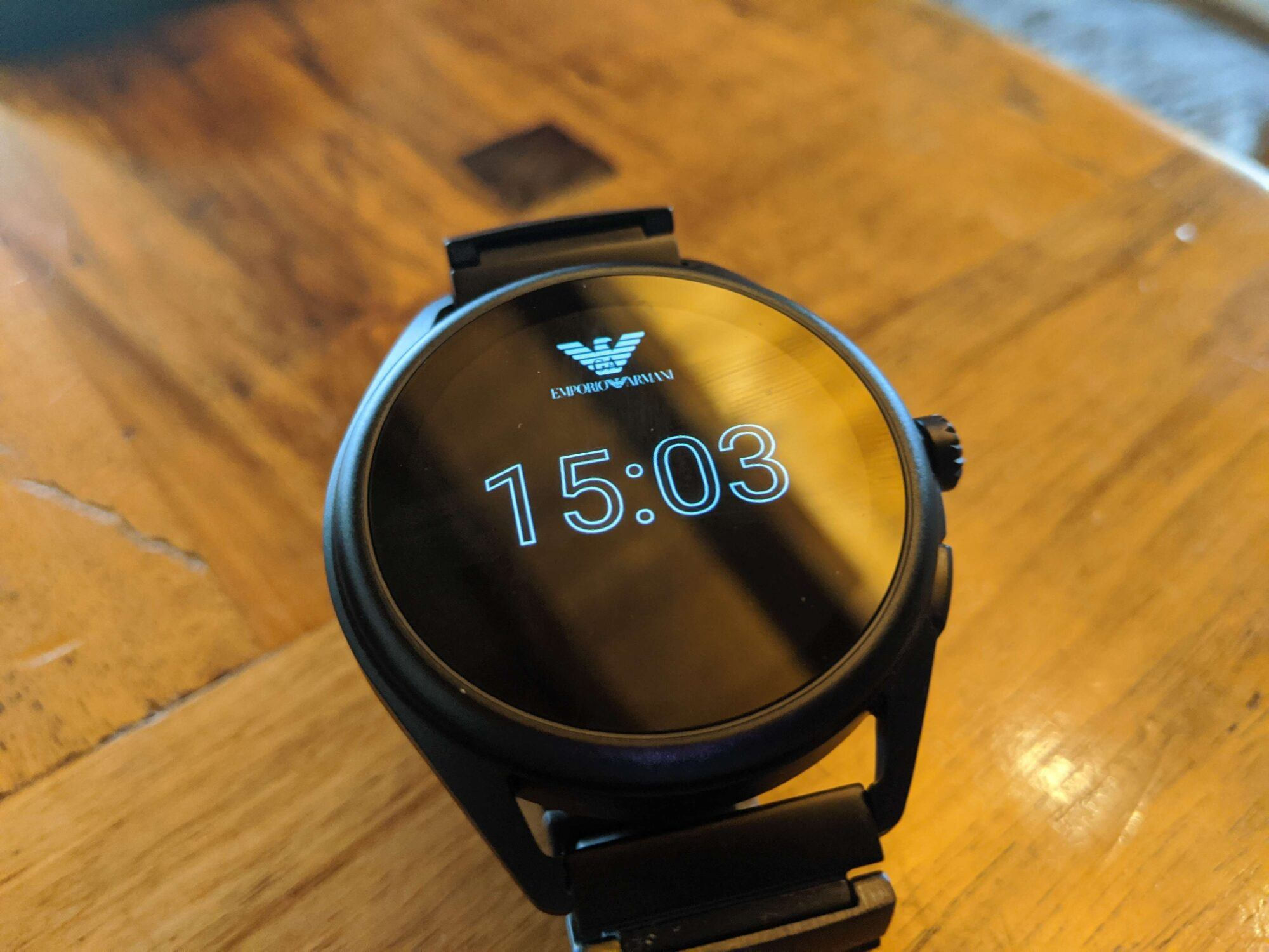 Emporio Armani smartwatch connected, fossil