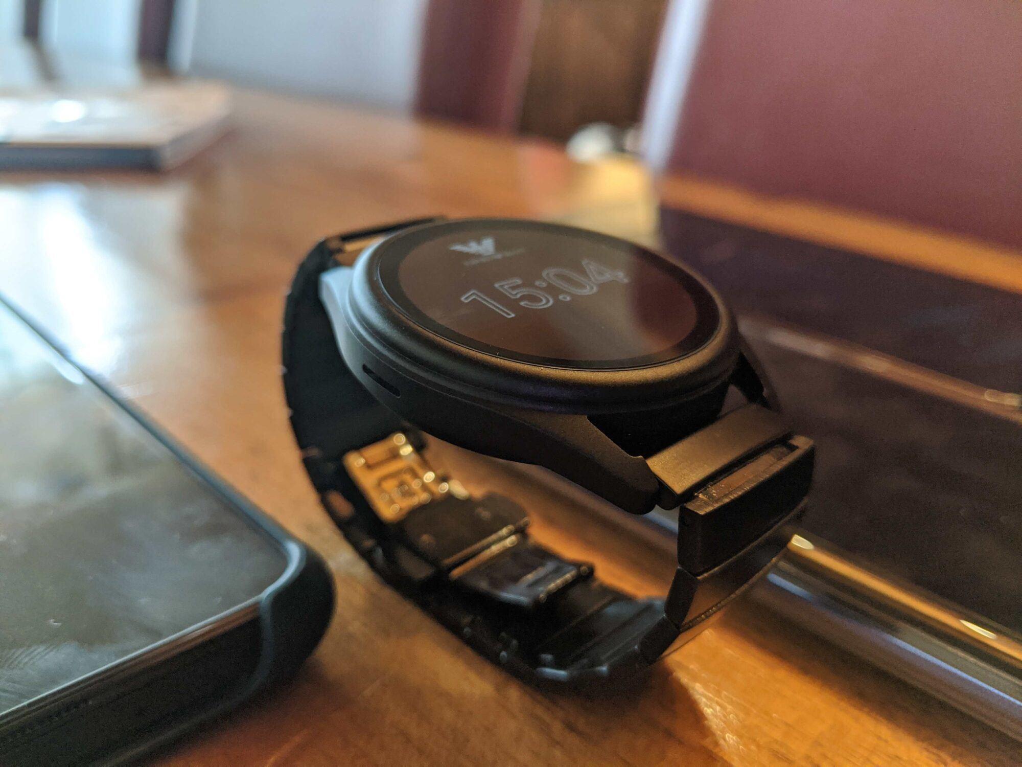 emporio, armani, emporio armani smartwatch