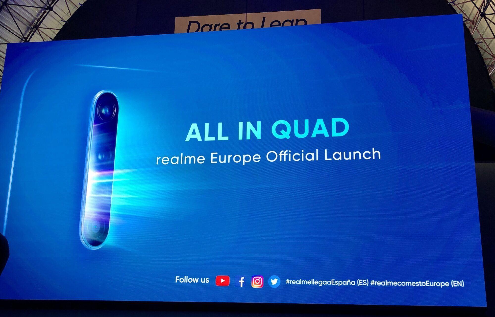 Realme lancement europe du X2 Pro