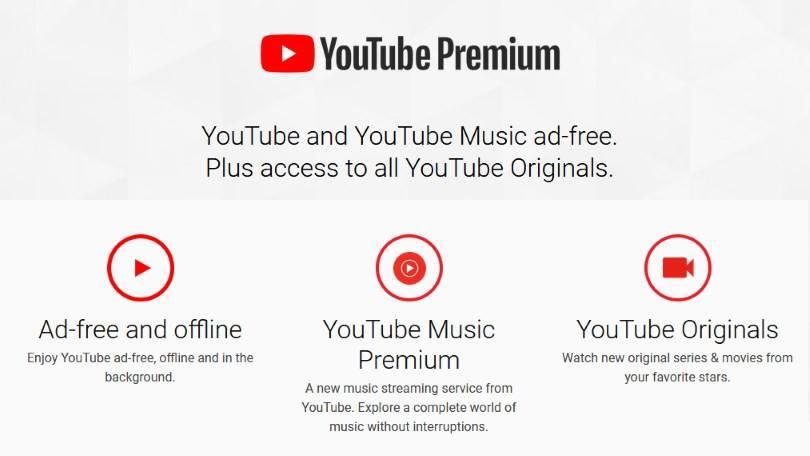 YouTube premium gratuit