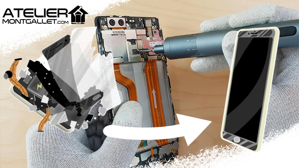 Atelier Montgallet, boutique de réparation de smartphones et tablettes à Paris - Réparation écran Samsung original