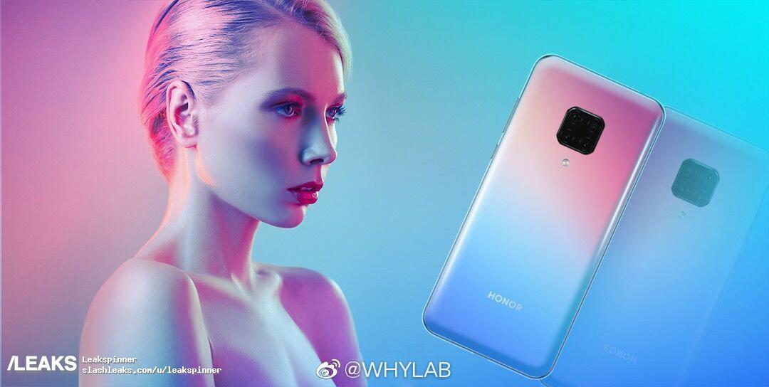 Honor View 30 Pro Poster Quad Camera