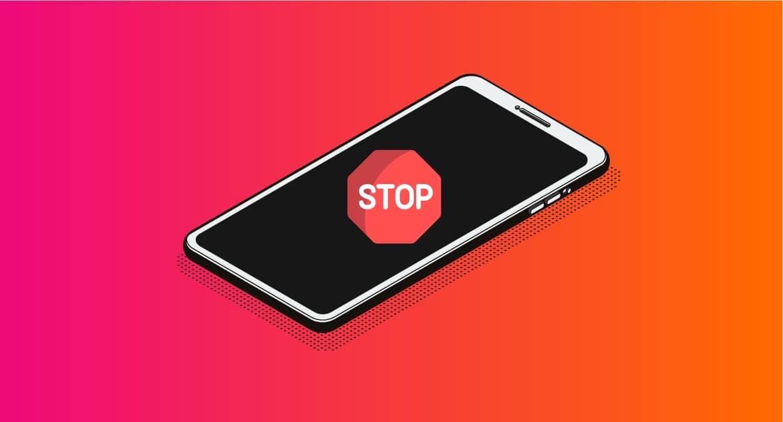 Limiter utilisation smartphone android