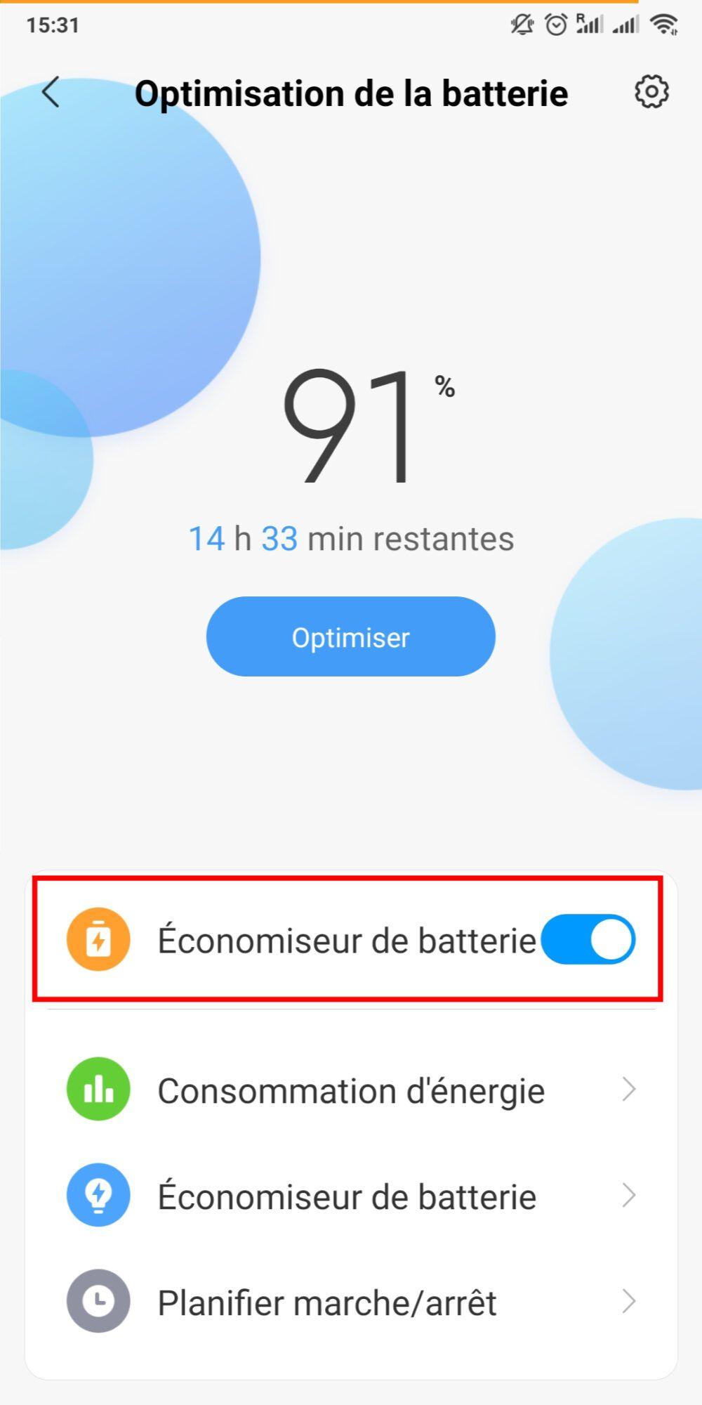 Mode Economie Energie 3