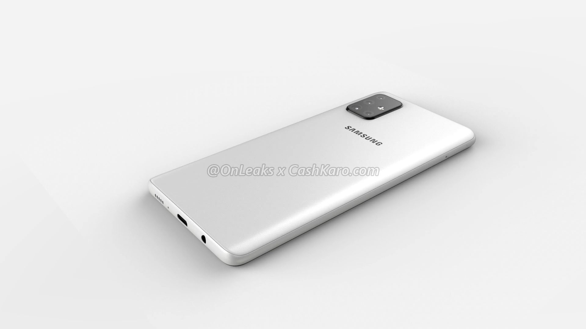 Samsung Galaxy A71 - Aperçu du dos