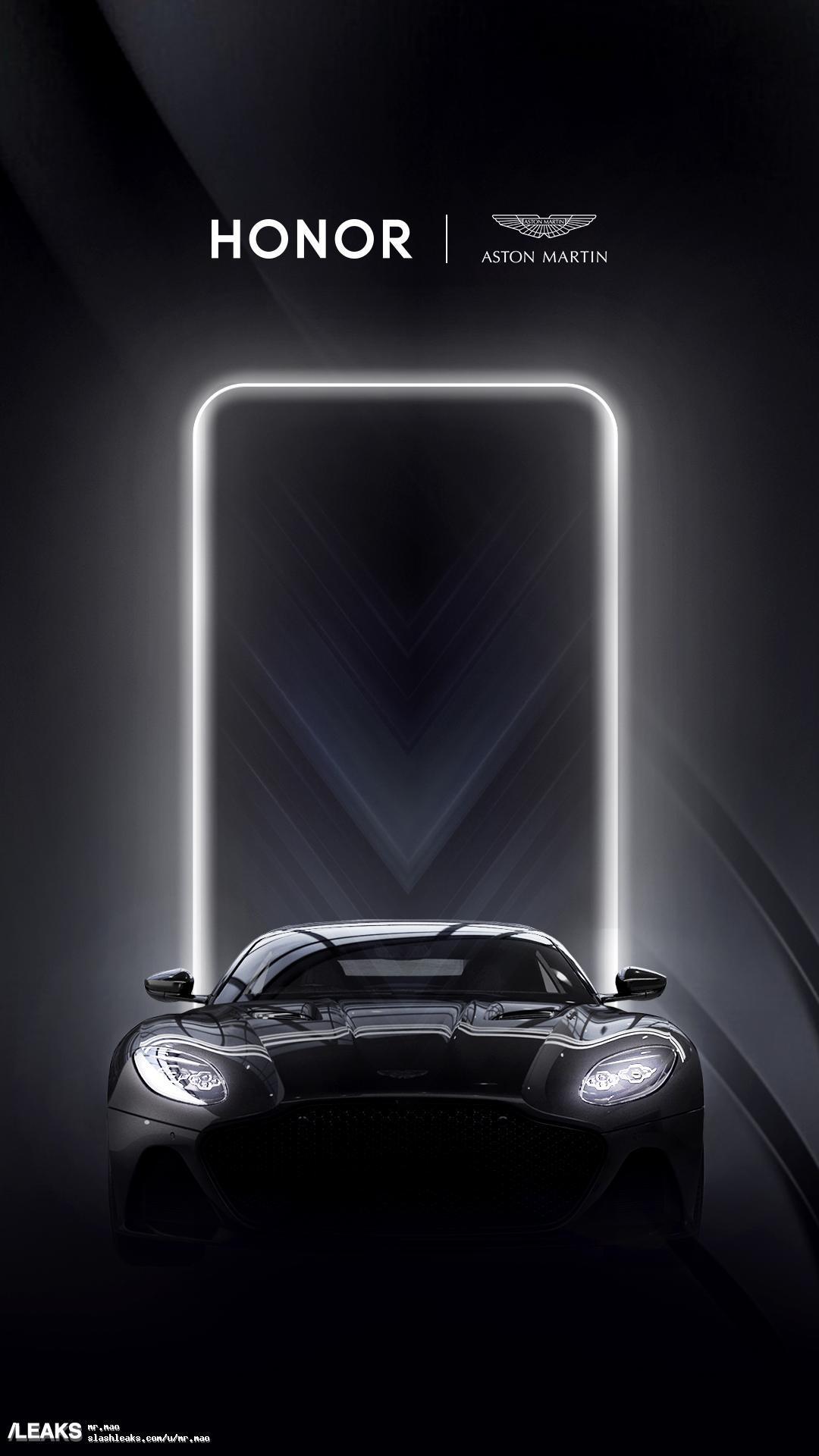 Honor - Aston Martin partenariat
