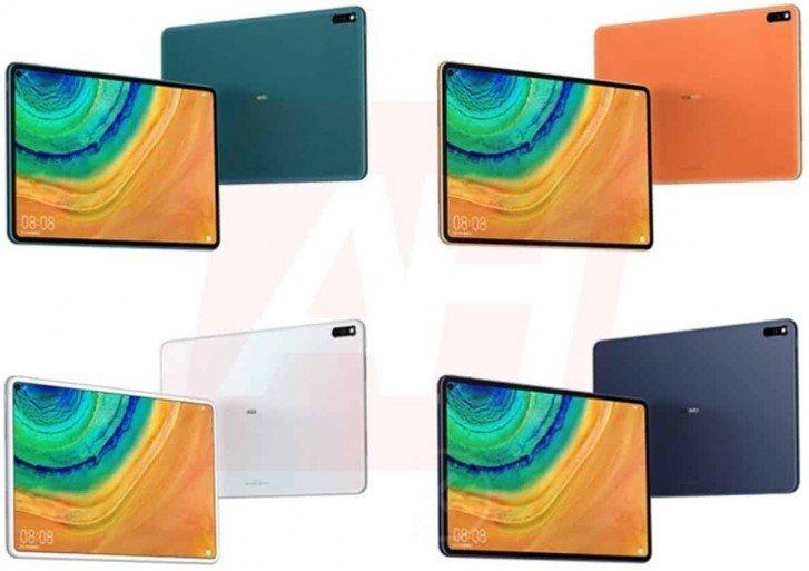 Huawei MatePad Pro - Différents coloris