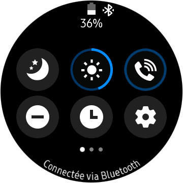 Paramètres Samsung Galaxy Watch Active 2