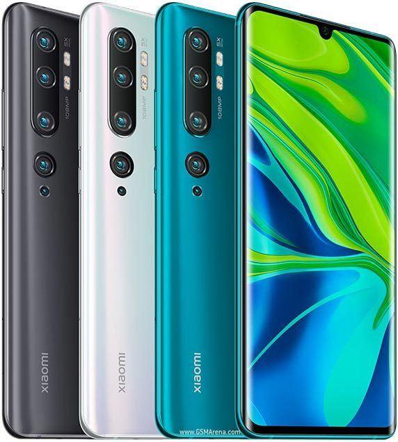 Xiaomi Mi Note 10 - Coloris