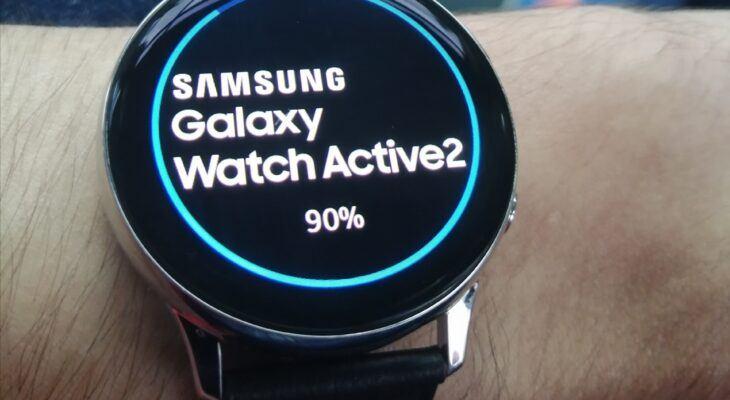 Samsung Galaxy Watch Active 2   Une