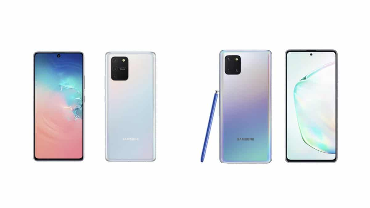 Le designe du Samsung galaxy Note 10 se démocratise.